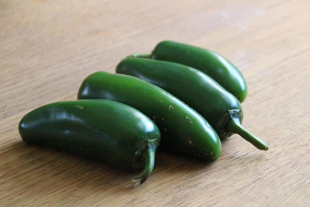 Roasted Jalapeno Salsa inspired by Taco Deli's Dona Sauce in Austin, Texas.