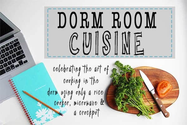 Dorm Room Cuisine Cookbook
