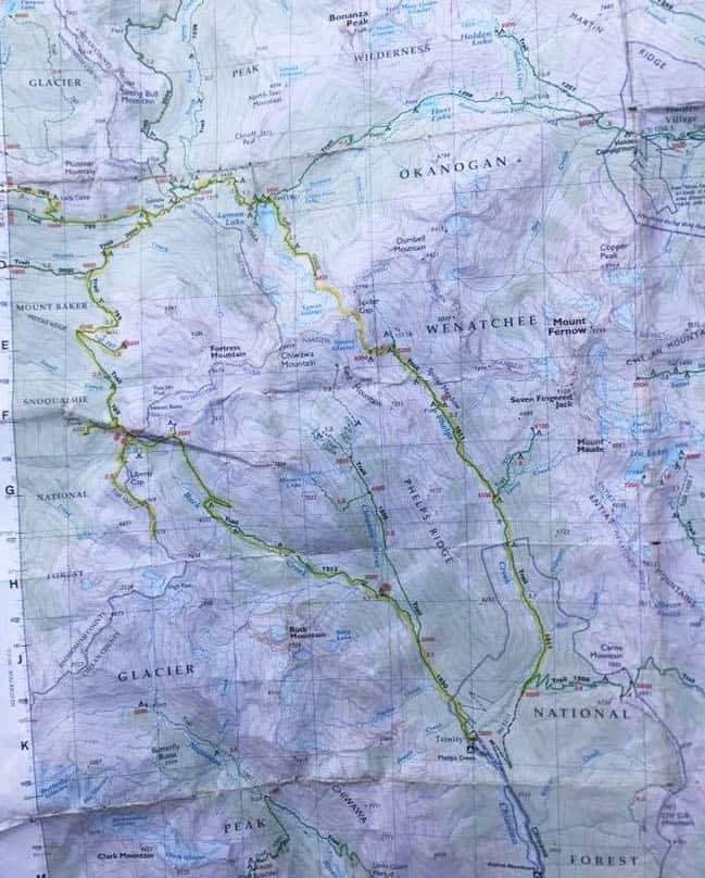 Backpacking the Glacier Peak Wilderness - Spider Meadow, Buck Creek Pass Loop