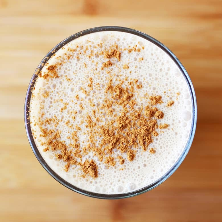 Cashew Coffee Protein Drink With Instant Espresso. A quick morning pick-me-up/snack for busy people on the go. Nutty cashews give this morning bevy a coffee house like taste and creamy texture and instant espresso makes this super fast to whip up. Dive in!